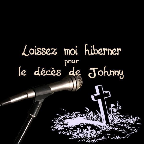 Laissez moi hiberner pour le décès de johnny hallyday