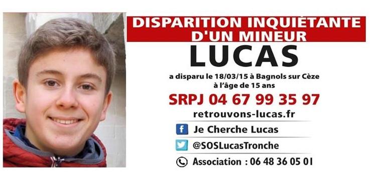 bannière je cherche Lucas pour blog Famille Tout à Dire