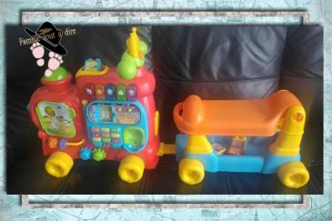 train maxi trotti Vetch le jouet pousseur à partir d'un an pour les débuts de la marche de bébé