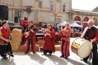 Troubadours à Peyrolles en Provence à la foire du Roy René en 2018