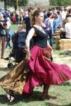 Danseuse à l'entrainement