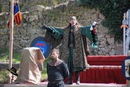 aboyeur médiéval, maitre de cérémonie