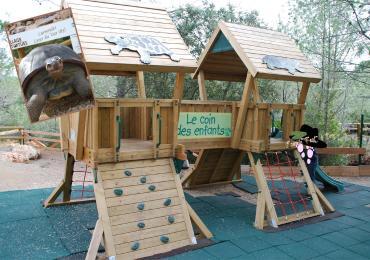 Village des tortues à Carnoules le coin des enfants