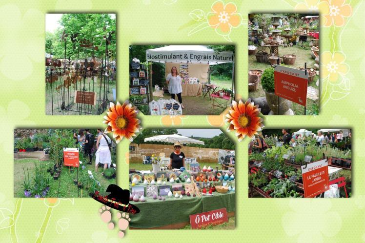 Stands jardins d'albertas et sa journée des fleurs