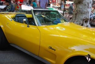 chevrolet corvette stingray jaune