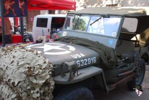 jeep us à tourves lors de la soirée américaine