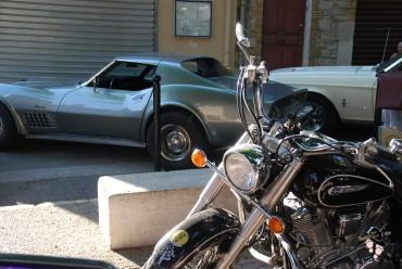 voiture américaine et triker