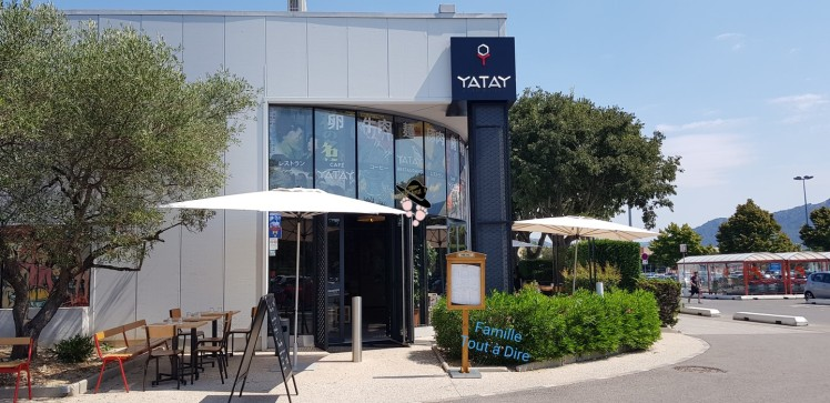 façade du restaurant yatay aubagne