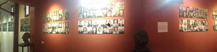 galerie des portraits des mineurs du musée des gueules rouges à Tourves. Famille Tout à dire