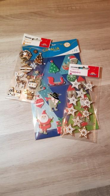 matériel stickers de cultura pour décoration de cadre en bois pour noel Famille Tout à Dire