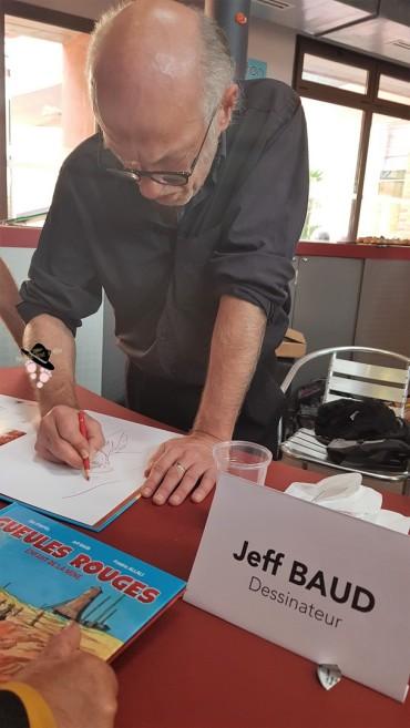 Jeff Baud bd gueules rouges famille tout à dire (Copier)