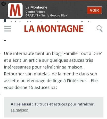 journal La Montagne Canicule Famille Tout à Dire