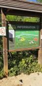 Panneaux d'informations et ludiques de la Grotte de la Salamandre