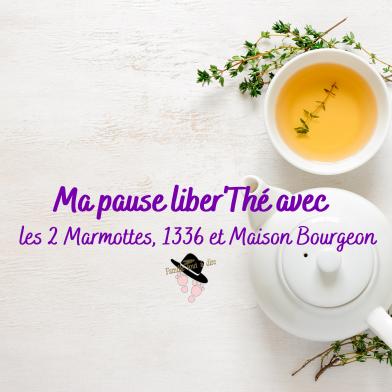 Ma pause liber'Thé avec les 2 Marmottes, 1336 et Maison Bourgeon